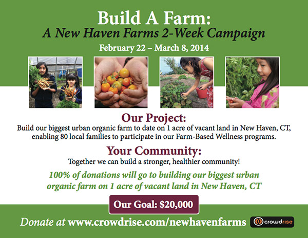 Help NHF Build A Farm!