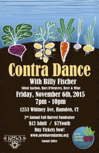 NHF Contra Dance Poster 2015
