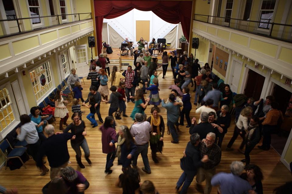 Contra Dance - New Haven Farms