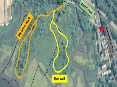 quinnipiac meadows trail